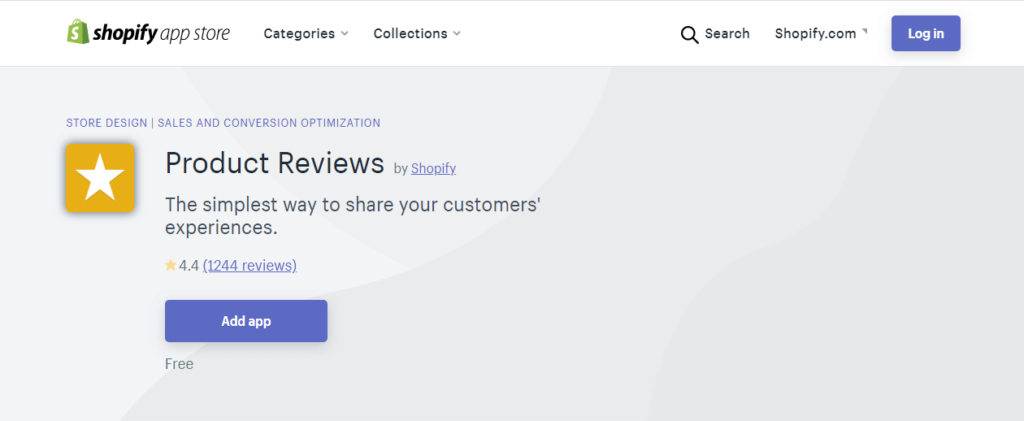 shopify product review app