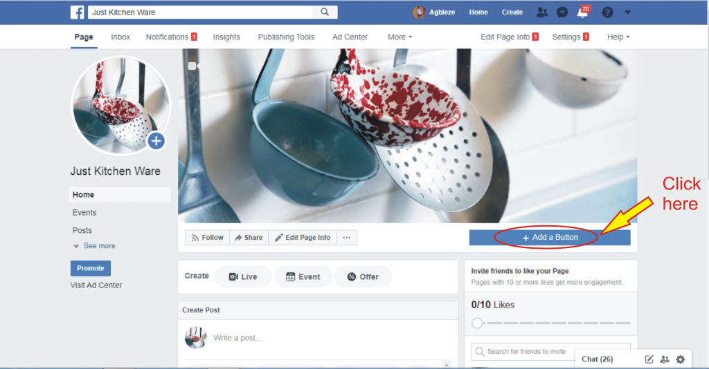 13 how to add shop now button to facebook page