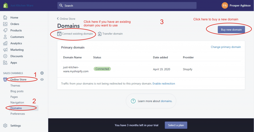 15a how to add a custom domain to shopify