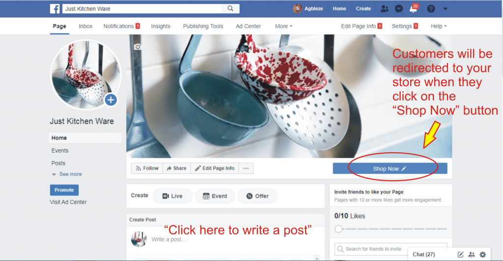 17 how to post on facebook page