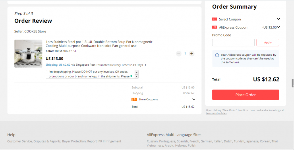20e how to dropship from aliexpress with oberlo