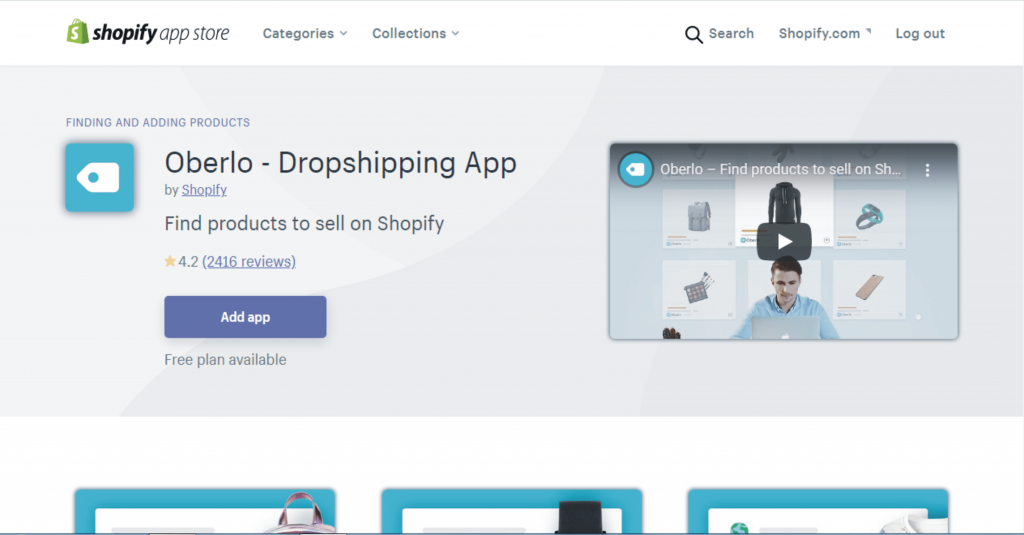 5b how to install oberlo app for shopify